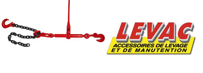 Levac, retrouvez le matériel de levage manutention Levac chez Materiel de Pro