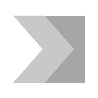 Demi-cylindre ISR6 40x10 5 clés laiton nickelé Iséo