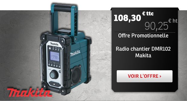 Radio chantier DMR 102 Makita