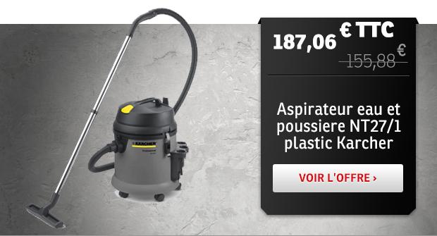 Aspirateur eau et poussiere NT27/1 plastic Karcher