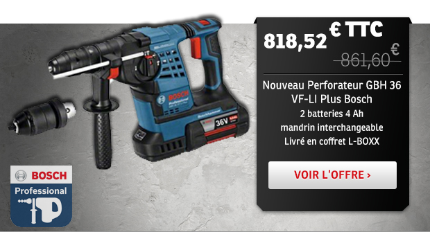 Perforateur Bosch 36 VF-LI PLUS