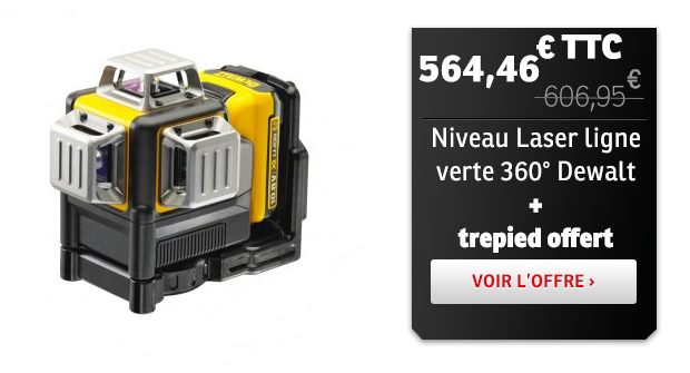 Niveau Laser Vert Dewalt