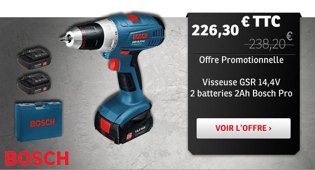Visseuse GSR 14,4V Bosch