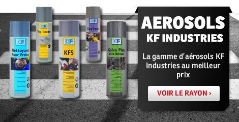 Bannière Aérosols KF Industries