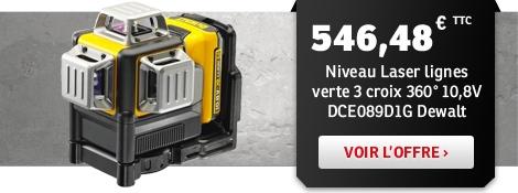 Promo laser Dewalt