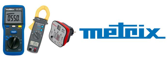 Metrix, retrouvez tous les outils de mesure électrique Metrix chez Materiel de Pro