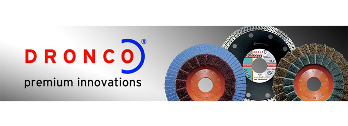 Dronco Abrasifs, Retrouvez les disques à tronçonner et les disques à lamelles Dronco chez Materiel de Pro