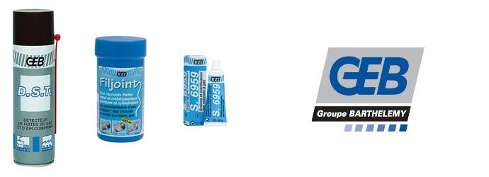 GEB, retrouvez les consommables plomberie GEB chez Materiel de Pro.
