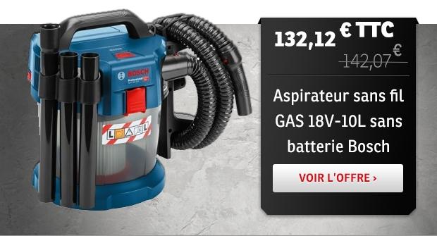 Aspirateur GAS 18V-10L Bosch
