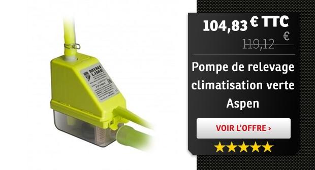 Pompe mini-verte Aspen