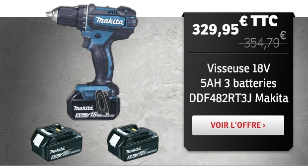 Visseuse Makita DDF482RT3J