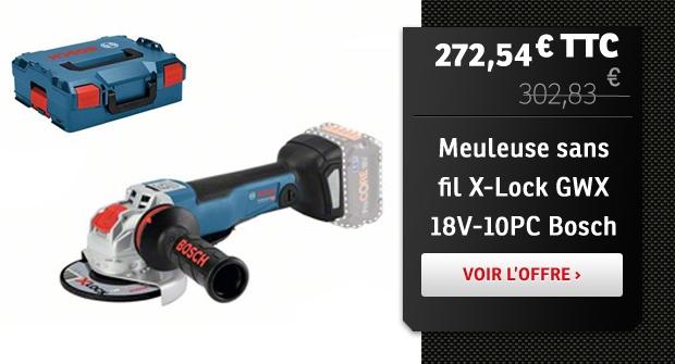 Meuleuse sans fil X-Lock Bosch