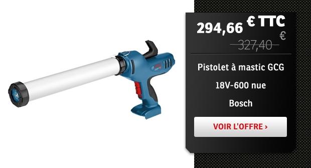 Pistolet à mastic Bosch