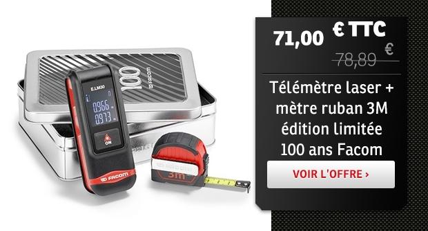 Télémètre laser 100 ans Facom